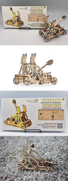 Wooden 2595: Wood Trick Egyptian Catapult Slingshot Mechanical Models 3D Wooden Puzzles Diy -> BUY IT NOW ONLY: $52.05 on eBay!
