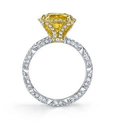 Bella's Love® Cushion-Cut Edition #ring by Katharine James. Holy crap this ring is insane!