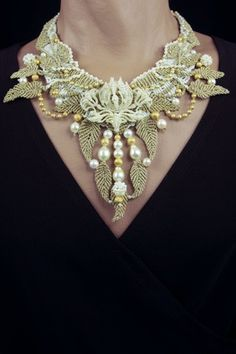 Secret Life of Jewelry - A Universe of Handcrafted Art to Wear: Not Your Every Day Knots - Jewelry by Barbara Natoli Witt