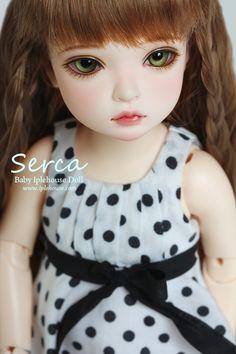 Baby Iplehouse Serca. These Baby Iplehouse dolls are exquisite! #bjd