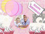 Birthday Scrapbook Template