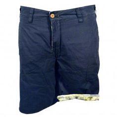 TAILOR VINTAGE Navy/Multi Reversible Shorts