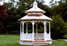 Victorian Gazebo I Would Love This In The Middle Of My