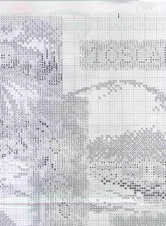 Cross stitch pattern,Toscana 3 of 9.
