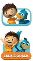Best friends Zack and Quack live inside the most amazing pop-up book ever, where pulling pop-ups makes exciting and unexpected things happen. Purple Squirrel, Animation Series, Paw Patrol, Party Themes, To My Daughter, Best Friends, Activities, Usa, Fictional Characters