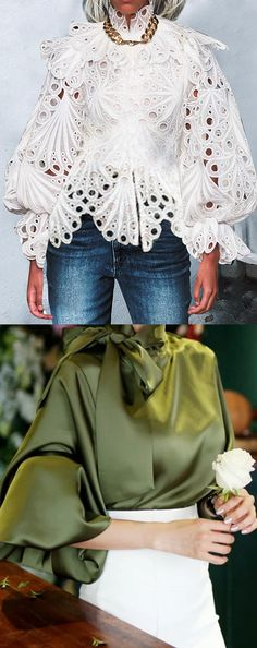 Fashion 2020 Trending Blouses Acne, Puberty and Girlfriends acne scar removal Article Body: An infla Moda Fashion, Womens Fashion, Female Fashion, Fashion 2020, Fashion Trends, Mode Outfits, Girl Outfits, Dressy Outfits, Beautiful Blouses