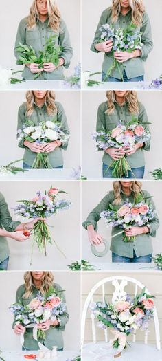 DIY spring wedding bouquet ideas
