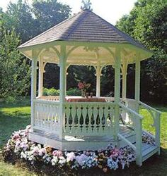 Gazebo Ideas to Embellish Your Lovely Garden I want this soooooo bad! -Garden Gazebo Ideas-I want this soooooo bad! Diy Pergola, Backyard Gazebo, Garden Gazebo, Pergola Kits, Backyard Landscaping, Gazebo Ideas, Garden Structures, Outdoor Structures, Gazebos