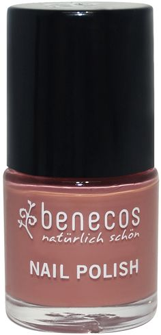 "Benecos Nail Polish - Rose Passion Benecos offers a colourful nail polish range called ""Happy Nails"". Although Benecos nail polishes are not 100% natural they are less harmful than many other conventional nail polishes and nail varnish. Benecos Nail Polishes offer a real alternative for health conscious people who want to paint their nails. Benecos Nail Polishes are Vegan friendly and free from toluene, formaldehyde, camphor, phthalates, colophonium/colophony. Vegan."