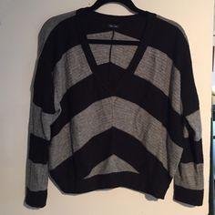 Selling this Black and grey striped Splendid crop sweater in my Poshmark closet! My username is: schin. #shopmycloset #poshmark #fashion #shopping #style #forsale #Splendid #Sweaters