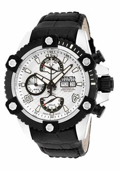 Invicta Men's Reserve Arsenal Swiss Made ETA Valjoux 7750 Mechanical Automatic Chronograph Watch w/ One Slot Dive Case - Available in 3 Color Options