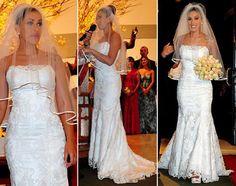Vestido de noiva da Dani Bolina
