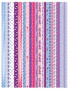 You can use them in planners like Erin Condren Lifepl. Diy Washi Tape Phone Case, Washi Tapes, Printable Planner Stickers, Printables, Origami Star Paper, Washi Tape Planner, Decorative Tape, Diy Notebook, Washi Tape