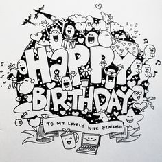 doodle happy birthday - Google Search