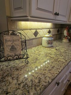 New Granite Countertop Installed Giallo Napoli Tumbled