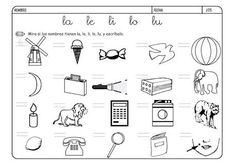 Resultado de imagen para ejercicios de preescolar letras Math Equations, Google, Speech Pathology, Letter Activities, Interactive Activities, Words, Promissory Note