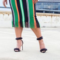 Colour stripes from