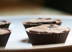 Homemade Chocolate Peanut Butter Cups - Gluten Free, Dairy Free, Soy Free, Nut F Homemade Peanut Butter Cups, Chocolate Peanut Butter Cups, Homemade Chocolate, Chocolate Desserts, Lactose Free Chocolate, Dairy Free Chocolate Chips, Gluten Free Deserts, Foods With Gluten, Allergy Free Recipes
