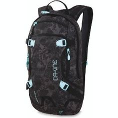 Dakine Women's 11-Litre Heli Pack Pack.  $64.95 - $69.90            The Womens Heli Pack 11L cover the pack storage a range of outside activities with the comfort of a harness designed specifically for women