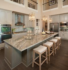 105 Rancho Trail - Partners in Building - Transitional - Kitchen - austin - by Five Star Interiors