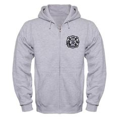 Fire Rescue Zip Hoodies  Light and Dark Color Hoodies for firefighters
