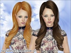 Skysims-Hair-165  Found in TSR Category 'Sims 2 Downloads'