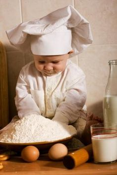 ready to bake...never too young !