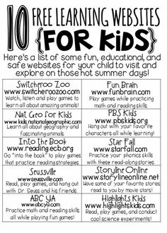 Online education for kids.