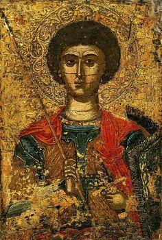 Byzantine Icons, Byzantine Art, Religious Icons, Religious Art, Greek Icons, Russian Icons, Roman Art, Archangel Michael, Art Icon