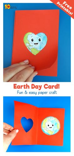Earth Day Card -Free printable!