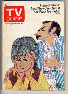 """I remember waiting for the TV Guide to come out ESPECIALLY the September issue where they had an overview of new and old tv shows and air dates/times. This is a classic issue dated Bea Arthur and Bill Macy of """"Maude"""" All In The Family, Old Shows, Tv Land, Vintage Tv, Tv Guide, Old Tv, Classic Tv, Best Tv"""