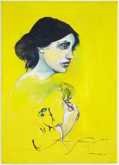 Virginia Woolf portrait by Danish artist Cathrine Raben Davidsen