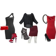 Wear on pinterest katie holmes little black dresses and dress red