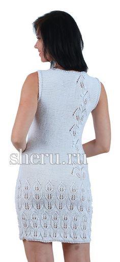 Платье-сарафан спицами. Обсуждение на LiveInternet - Российский Сервис Онлайн-Дневников