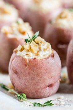 French Onion Stuffed Potatoes