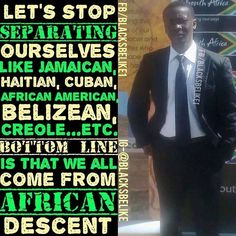 Pan African evolution unification of Africans all around the world with one objective is to bring down our oppressor