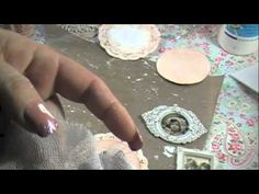 Shabby Chic Ornament#1 Tutorial - YouTube