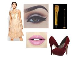 pç by marina-lage on Polyvore featuring Chi Chi, Michael Antonio and Fiebiger