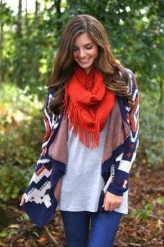 Cozy and colorful!
