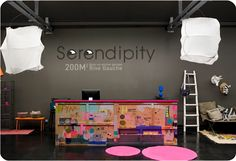 Serendipity: concept store in Paris #retail #space