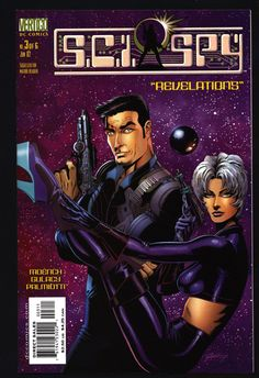 "SCI-SPY #3 Doug Moench,Paul Gulacy, ""James Bond in Outer Space"", Science Fiction, Espionage,Illustrated Vertigo DC Comics"