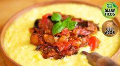 Polenta con salsa de berenjenas - Suat .:. Emergencia M�vil