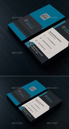 A Great Business Card For Almost Any Kind Of Company Or Even Personal Use