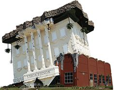 WonderWorks building in PCB  Pretty sure I would own seasonal passes to this place if we lived there! Looks amazing!