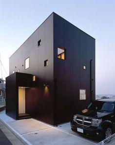 そらに寄り添う家・間取り(神奈川県横浜市) |ローコスト・低価格住宅|狭小住宅・コンパクトハウス | 注文住宅なら建築設計事務所 フリーダムアーキテクツデザイン