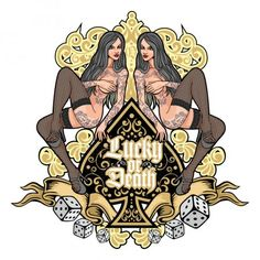 Sakimichan Art, Ace Of Spades, Smoke Art, Car Drawings, Illustrations, Pin Up Art, Cool Posters, Coat Of Arms, Guys And Girls
