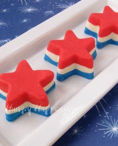 4th of July Fudge Stars