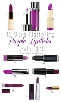 Why is Purple Lipstick So Great? Everyone can look bomb.com in purple lipstick, I don't care what you say.  There are so many shades of purple, from lavender to plum to orchid, and all will suit your skin tone.  Purple makeup is flattering on every skin tone and hair color (and eye color when we're talking about eyeshadow).  Why?  The color purple contains both blue and red, colors that brighten and clarify every skin tone.  Purple is like a color illusion - it makes your teeth ...