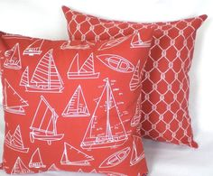 perfect beach house pillows :)