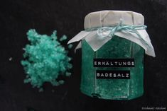 {DIY} Erkältungs-Badesalz – hilft doppelt